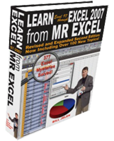 """Learn Excel 97-2007 from MrExcel"" by Bill Jelen"