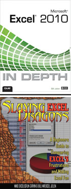 Excel In Depth and Slaying Excel Dragons