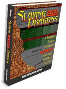 """SKU: 212 """"Slaying Excel Dragons: Excel Beginners Guide To Conquering Excel's Frustrations and Making Excel Fun"""" by Mike Girvin"""