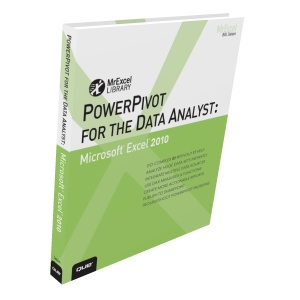 """PowerPivot For The Data Analyst"" by Bill Jelen"