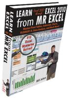 """Learn Excel 2007 through Excel 2010 from MrExcel"" by Bill Jelen"