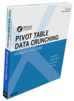 """Pivot Table Data Crunching: Microsoft Excel 2010"" by Bill Jelen and Michael Alexander"