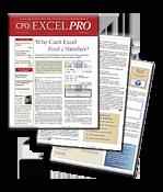 CFO EXCEL PRO - e-Newsletter from CFO.com