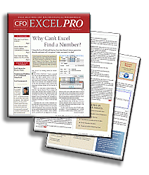 CFO EXCEL PRO - e-Newsletter from CFO.com