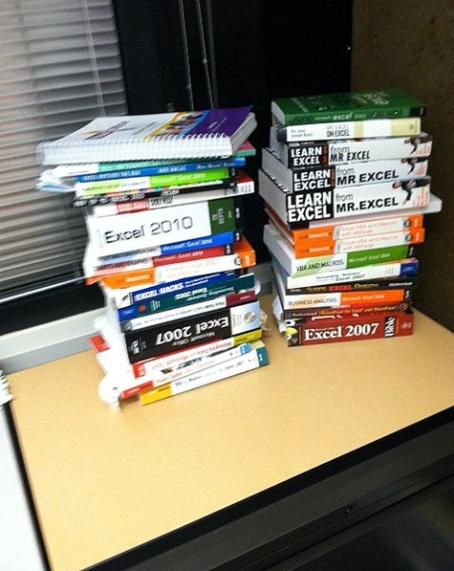 Mikes Overflow Bookshelf