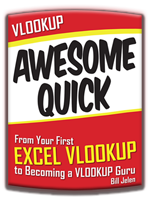 VLookup Awesome Quick - Enhanced E-Book for iPad, by Bill Jelen