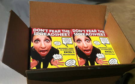 """""""Don't Fear The Spreadsheet"""" The Printed Edition!"""