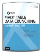 """Pivot Table Data Crunching Excel 2013"" by Bill Jelen"