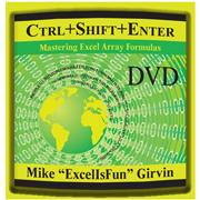 """Ctrl+Shift+Enter"" DVD by Mike 'ExcelisFun' Girvin"